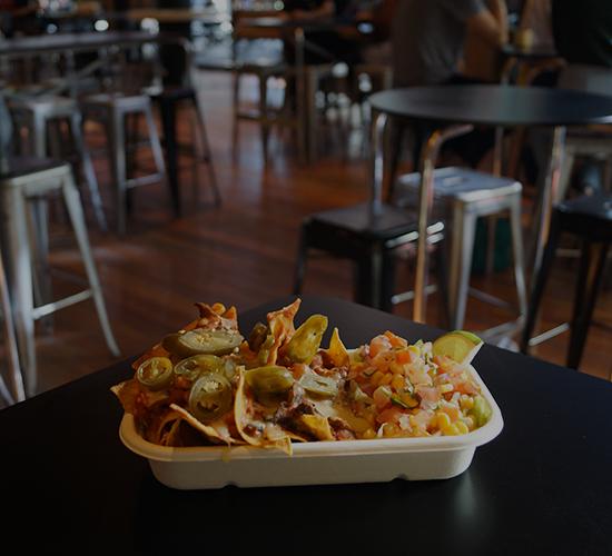 UOW UniBar Food Nachos Wollongong